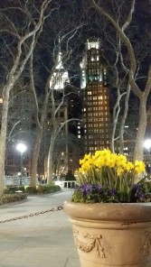 Empire State as seen from Bryant Park